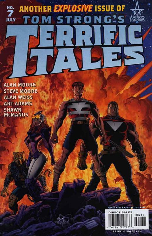 Tom Strong's Terrific Tales #7 FN; America's Best | save on shipping - details i