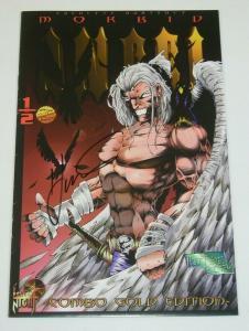 Morbid Angel #½ FN combo gold edition signed by Everette Hartsoe - half 1/2