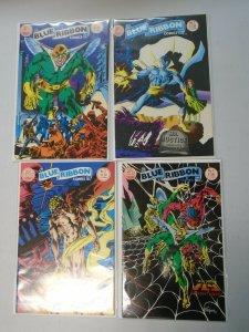 Blue Ribbon Comics run #1-4 8.0 VF (1983 Red Circle)