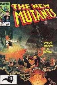 New Mutants (1983 series) #22, VF+ (Stock photo)