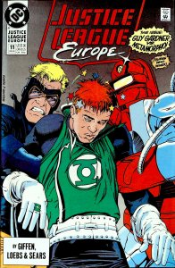 Justice League Europe #11 (1990)