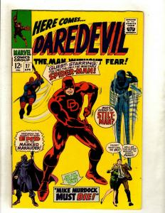 Daredevil # 27 VF/NM Marvel Comic Book Spider-Man Stilt-Man Matt Murdock HY1