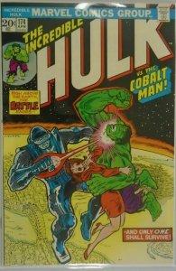 The Incredible Hulk #174 - 7.0 FN/VF - 1974