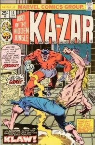 Ka-Zar (1974 series) #14, VF+ (Stock photo)