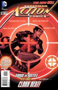 Action Comics (2011 series) #10, VF+ (Stock photo)