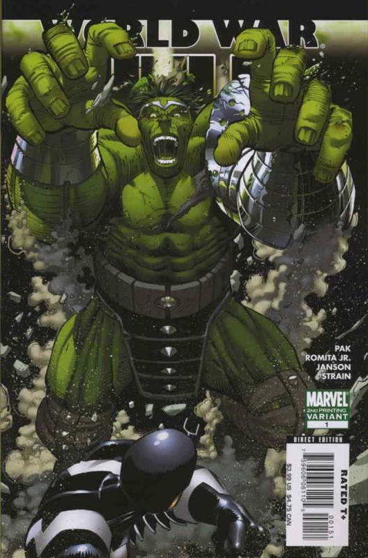 World War Hulk #1 (2nd) VF; Marvel | save on shipping - details inside