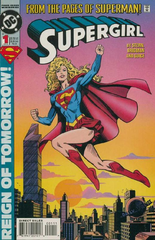 SUPERGIRL  (1994) 1-4 LEX LUTHOR=TROUBLE!!!!!