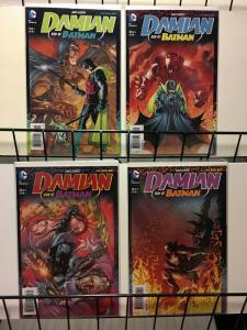 DAMIAN SON OF BATMAN (2013) 1-4  Andy Kubert