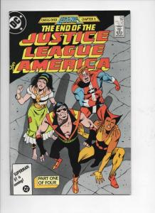 JUSTICE LEAGUE OF AMERICA #258, FN, Legends, Vibe, DC, 1987