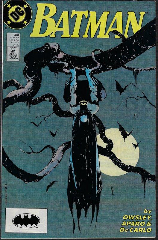 Batman #431 (DC, 1989) NM