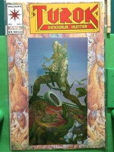 Turok Dinosaur Hunter #1 metallic cover