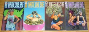 White Like She #1-4 FN/VF complete series BOB FINGERMAN interracial transgender