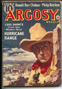 Argosy 8/19/1939-Luke Short-Jim Kjelgaard-Richard Sale and others-Top notch p...