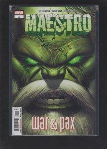 Maestro War And Pax #1