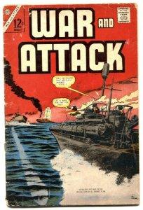 War and Attack #61 1967-Charlton comics G