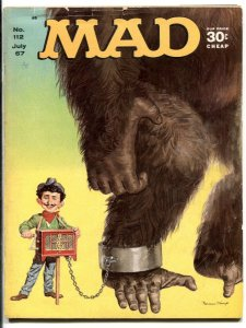 MAD Magazine #112 1967-Mingo-Martin-Berg-Drucker-Tvarzan-FR