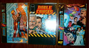 Noble Causes   vol. 1   #1,3B + (set of 3)