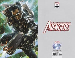 Avengers #19 Battle Lines Variant (Marvel, 2019) NM