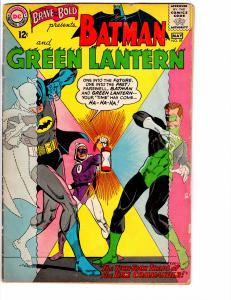 Brave and the Bold (1955) 59 Good+ (2.5) Batman and Green Lantern