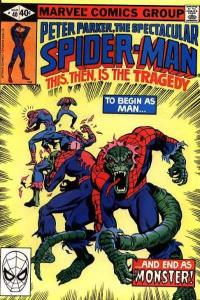 Spectacular Spider-Man (1976 series) #40, VF- (Stock photo)