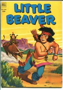 Little Beaver  #7-1952-Dell-Fred Harman-Indians-western art-VG/FN