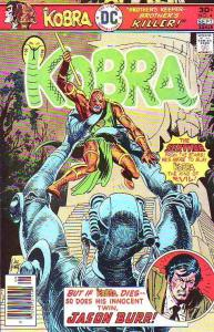 Kobra #4 (Sep-76) NM- High-Grade Kobra