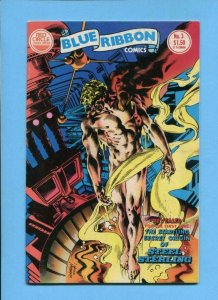 BLUE RIBBON COMICS #3, VF/NM, Red Circle, 1983, more in store