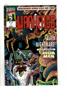 Warheads (UK) #3 (1992) YY5