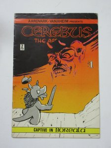 Cerebus the Aardvark (A Vanaheim Feb + March 1978) #2 Dave Sim 1st Printing!