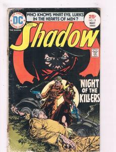 The Shadow #10 VG DC Bronze Age Comic Book Kaluta Series DE4