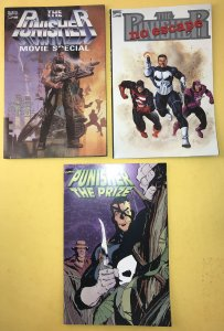 The PUNISHER~Movie Special,No Escape, The Prize Graphic Novel (3 Book) High Grad