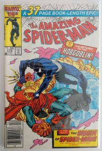 The Amazing Spider-Man #275 Newsstand (NM-)(1986)