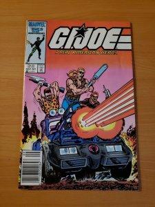 G.I. Joe A Real American Hero #51 NEWSSTAND ~ NEAR MINT NM ~ (1986, Marvel)