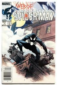 WEB OF SPIDER-MAN #1 -FIRST VULTURIONS-MARVEL-1985