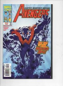 AVENGERS #3, NM-, Captain America, Thor, 1998, more Marvel in store