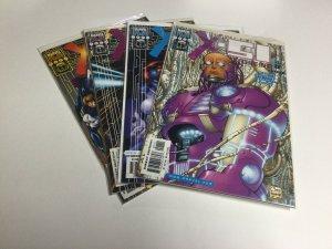 X-51 Machine Man 1 2 3 4 1-4 Nm Near Mint Marvel Comics