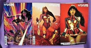 DC Future State WONDER WOMAN #1 - 2 Jenny Frison Variant Covers (DC, 2021)!