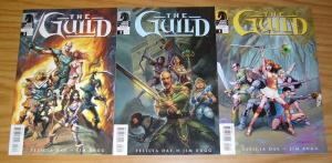 the Guild #1-3 VF- complete series based on felicia day web series - jim rugg