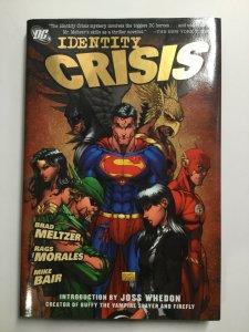 Identity Crisis Tpb Hardcover Hc Near Mint Nm Dc Comics