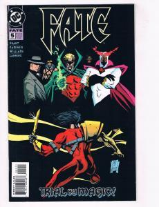 Fate #5 VF DC Comics Trial By Magic Comic Book Grant JSA Mar 1995 DE38 AD11