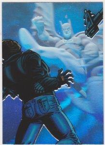 1996 Fleer DC Outburst Firepower Holoburst #2 Batman