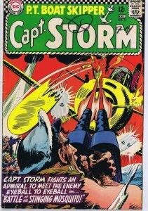 Capt Storm #16 ORIGINAL Vintage 1966 DC Comics