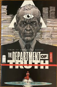 Department Of Truth #1 RI-A LTD 1 For 10 Variant Cover (2020 Image)