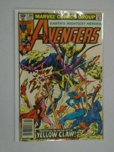 Avengers #204 Newsstand edition 7.0 FN VF (1981 1st Series)