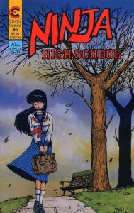 Ninja High School #5 VF; Malibu | save on shipping - details inside