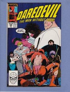 Daredevil #259 NM- Kingpin John Romita Jr