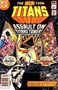 New Teen Titans (1980 series) #7, Fine- (Stock photo)