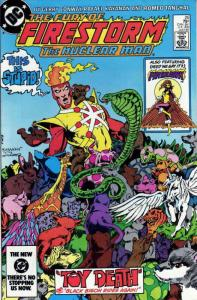 Fury of Firestorm, The #25 VF/NM; DC   save on shipping - details inside