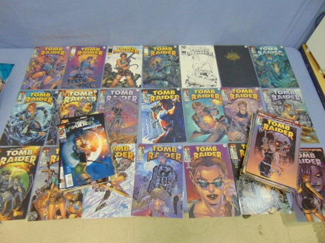 Huge Lot of 50 Tomb Raider Lara Croft Comic Books Adam Hughes Covers & Variants