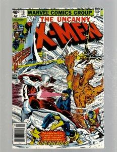 (Uncanny) X-Men # 121 VF Marvel Comic Book Beast Angel Cyclops Magneto SM19